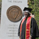Cynthia Maxwell Dillard, 75, earned her bachelor's degree in sociology from USC Dornsife. (USC Photo/Pamela J. Johnson)