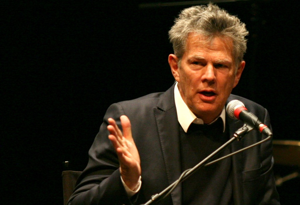 David Foster kicks off the Songwriters Hall of Fame Master Sessions, one of the unique learning experiences for students in USC Thornton's Popular Music program. (Photo by Adam Irving)