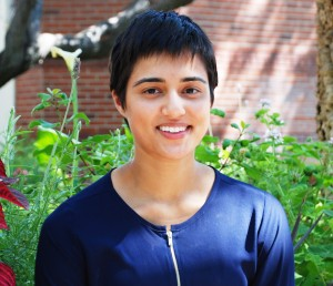 Jasneet Aulakh, a senior triple-major in history, English and philosophy at USC Dornsife (USC Photo/Laura Paisley)
