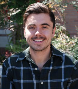 Juan Espinoza, a senior double-major in international relations at USC Dornsife with a minor at USC Annenberg (Photo/Courtesy of Laura Barraclough)