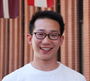 Andrew Ju, a senior international relations (global business) major at USC Dornsife (USC Photo/Laura Paisley)