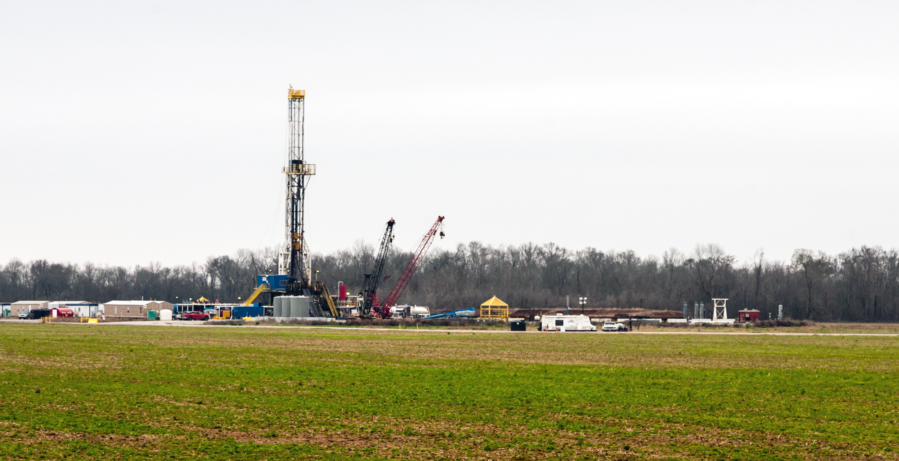 Fracking on the Haynesville Shale near Shreveport, La. (Photo/Daniel Foster, Flickr)
