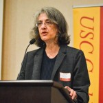 Professor Elyn Saks stresses the importance of treatment not punishment for people with mental disorders. (Photo/Courtesy of USC Gould School of Law)