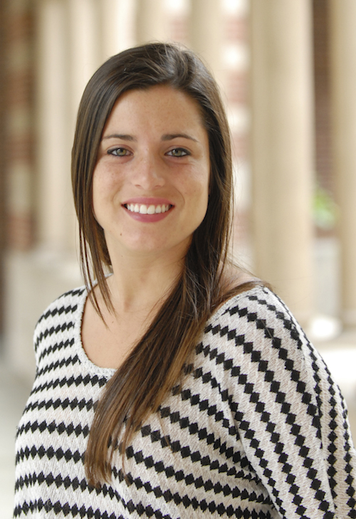 Claire Baugher has  pursued service through several USC organizations. (USC Photo/Lillian Insalata)