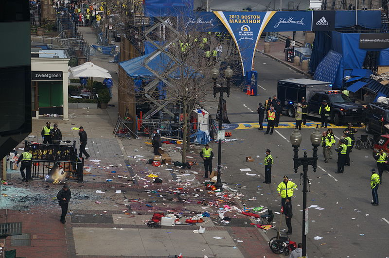 iWatch, a technology developed at USC that can help police prevent future terrorist attacks, could have been used to hasten the identification of the men behind the Boston Marathon bombings. (Photo/Aaron Tang)