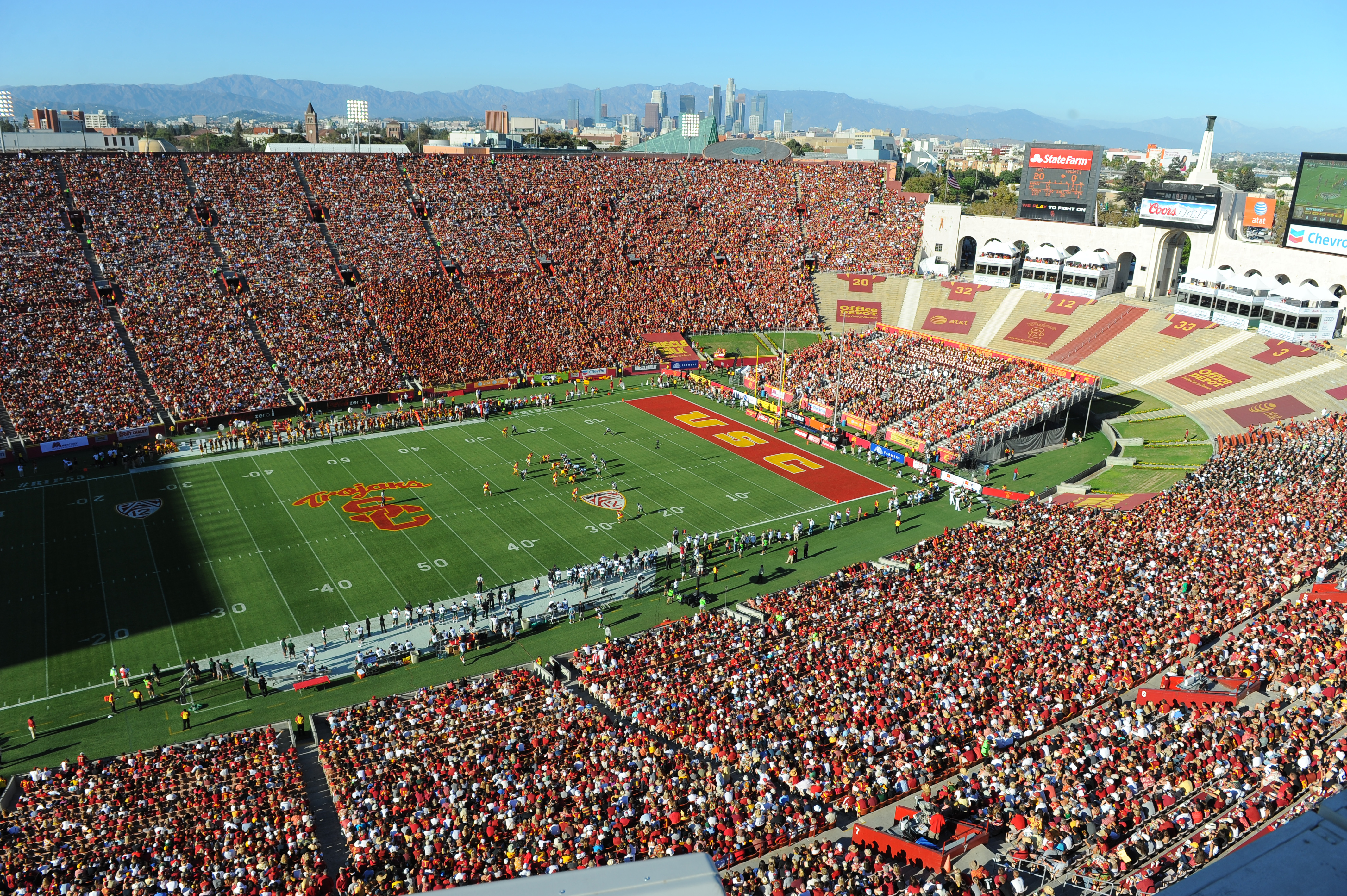 The new agreement ensures that the Coliseum will remain the home of Trojan football for years to come. (Photo/Dan Avila)