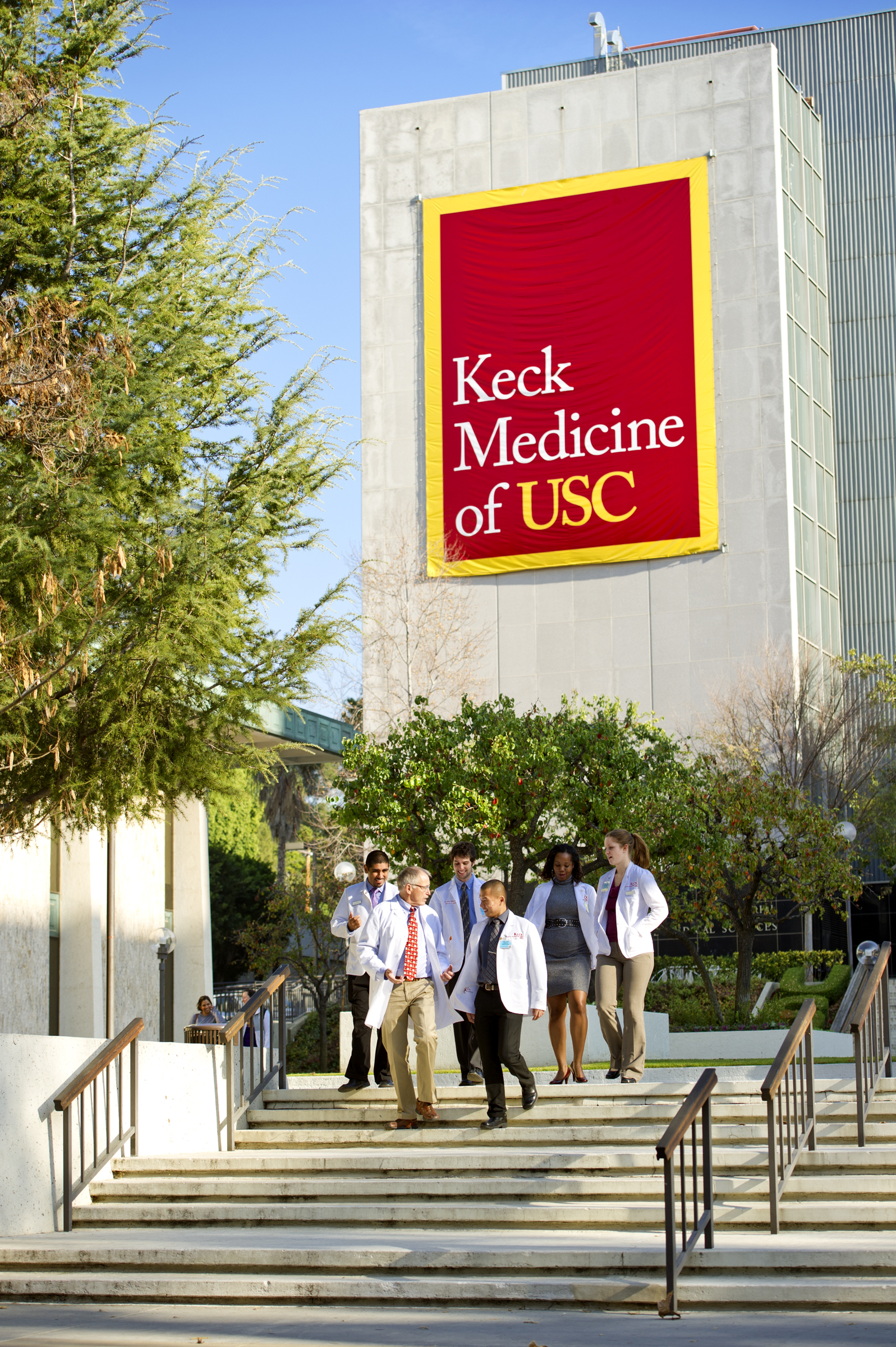 The excellence of an institution such as the Keck School of Medicine of USC can be measured by its personnel. (Photo/Chris Shinn)
