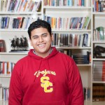 While caring for his family during Hurricane Sandy, Luis Hernandez was preparing for an interview in New York for acceptance into the USC Posse Scholars Program.  (Photo/Bethany Bandera)