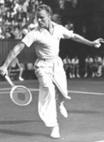 Former tennis star Gene Mako lettered at USC for three years.