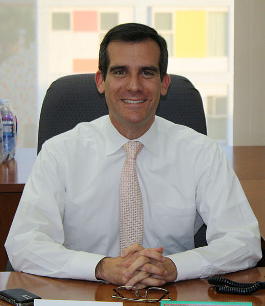 Los Angeles Mayor Eric Garcetti (Photo/Neon Tommy)