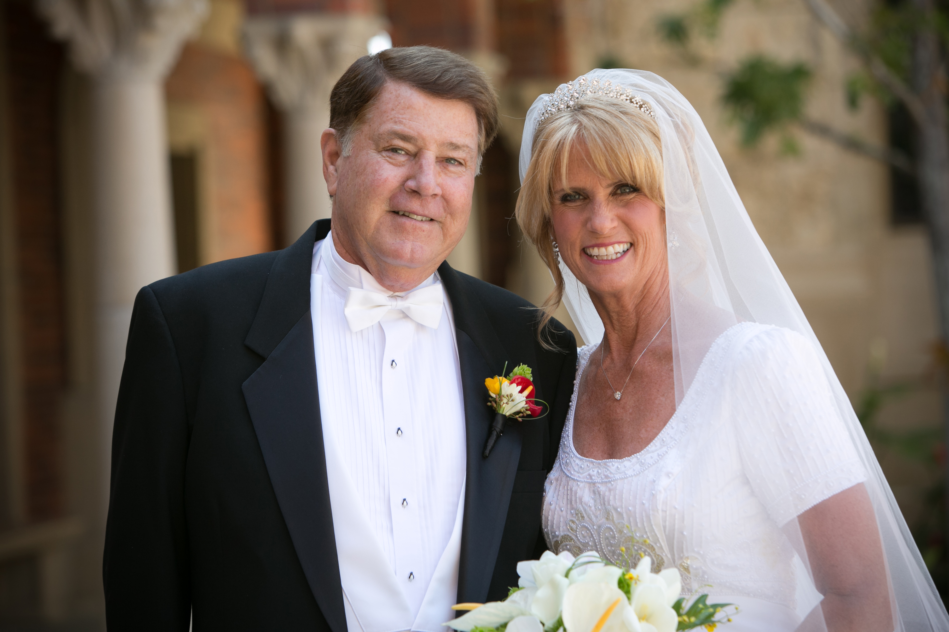 John and Karen Reid requested that in lieu of traditional gifts for their wedding, guests consider donations to the Darlene Dufau Reid Endowed Scholarship Fund. (Photo/David Michael Photography)