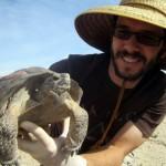 Tuma with tortoise