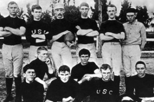 The members of USC's first football team in 1888 were called the Methodists.