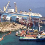 The Costa Concordia salvage operation in Italy (Photo/courtesty of Titan Salvage)