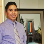 Vincent Vigil serves as director of the USC LGBT Resource Center. (Photo/Kathy Christie)