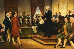 Constitutional Convention painting