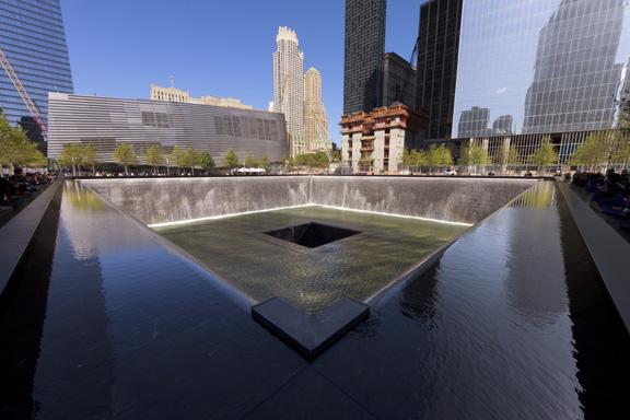 Sept 11 Memorial pools