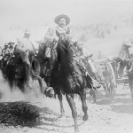 "General Francisco ""Pancho"" Villa on horseback, during the Mexican Revolution in 1914. Villa is part of the PBS series Latino Americans, in which USC Dornsife's George Sanchez participated. (Photo/courtesy of Library of Congress Prints & Photographs Division)"