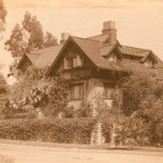 Architects Henry and Charles Greene designed the James Culbertson House, seen here in 1909 and part of the collection donated to the USC School of Architecture by Randell Makinson. (Photo/Harold Parker/Greene and Greene Archives)