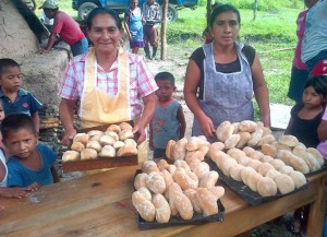 With help from Echoing Good's fundraising, residents in Guatemala opened a bakery. (Photo/Molly Eckert)