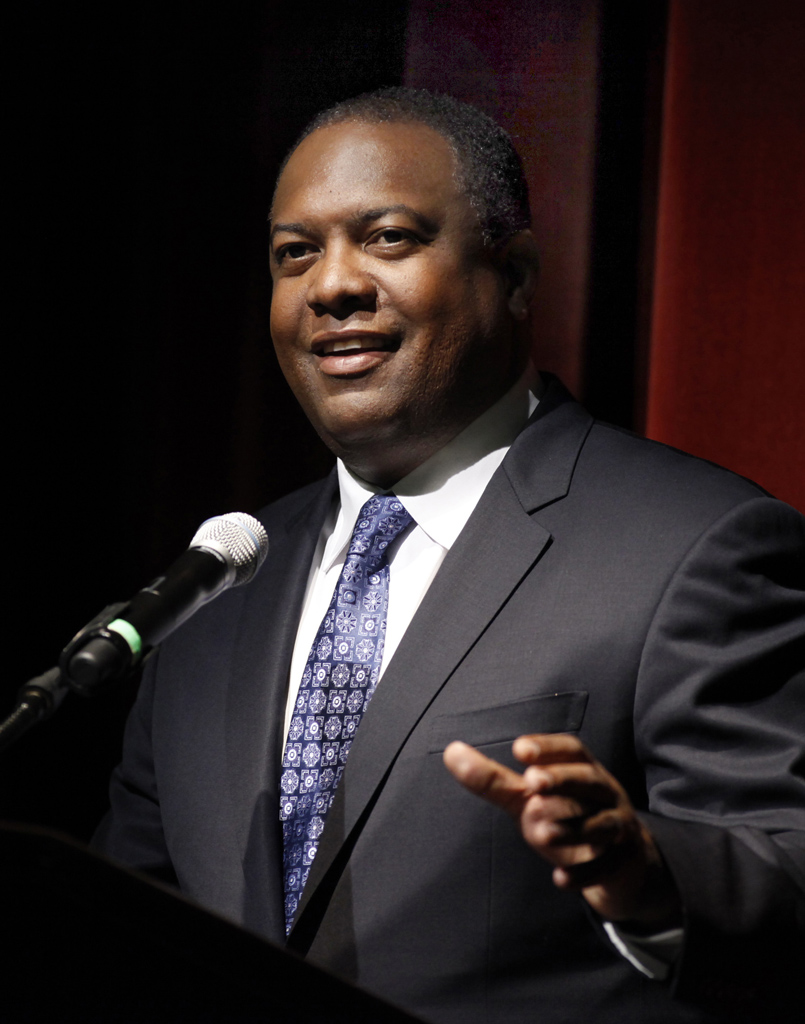 USC alum Rodney Peete has previously spoken at the USC Occupational Science Symposium. (Photo/Steve Cohn)