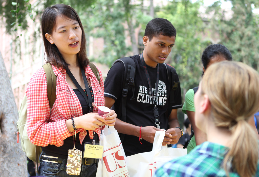 The international student population at USC is highly diverse, according to the director of the Office of International Services. (Photo/Dennis Martinez)