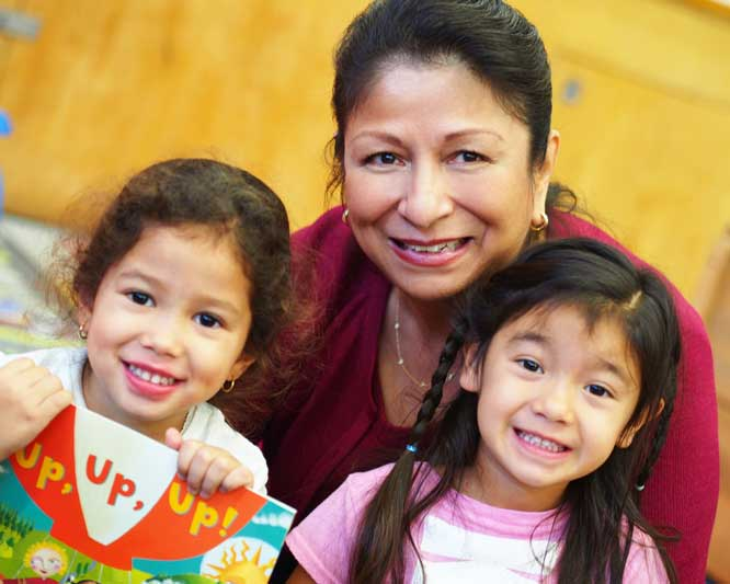 Celia Ayala strives to attain affordable early childhood education for LA County's 4-year-olds. (Photo/courtesy of USC Rossier)