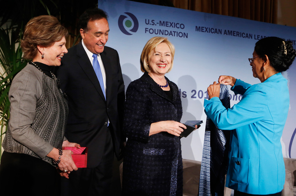 Hillary Clinton honored by US-Mexico Foundation | USC News