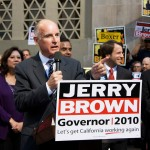 The poll found that 55 percent of Californians approve of the job being done by Jerry Brown as governor — his highest rating since he took office in 2011. (Photo/Neon Tommy)