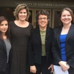 Lydia Espinoza-Oregel,  USC Gould School of Law Professor Heidi Rummel, Elizabeth Calvin of Human Rights Watch and USC Gould fellow Elizabeth Henneke