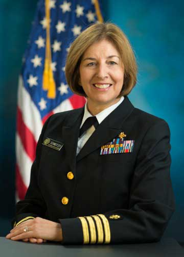 Pamela Schweitzer, recipient of this year's Distinguished Federal Pharmacist Award