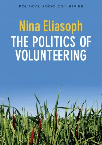 Nina Eliasoph wants readers to think, read and talk about what volunteers can do.
