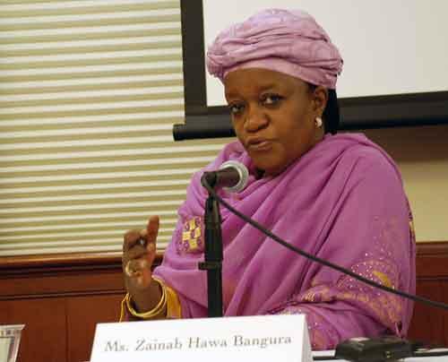 Zainab Hawa Bangura