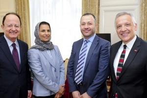 Qatar University officials