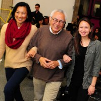 Miller Fong with daughter and granddaughter