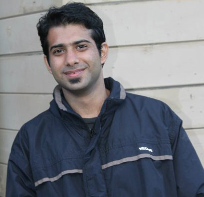 PhD student Sheraz Khoja