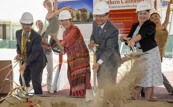Kaufman groundbreaking