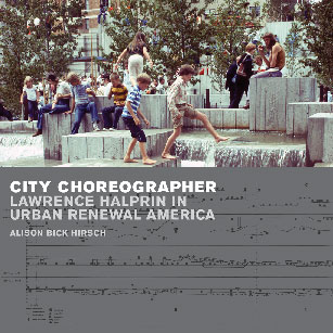 Lawrence Halprin book jacket