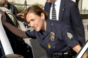 Alma Burke LAPD police officer
