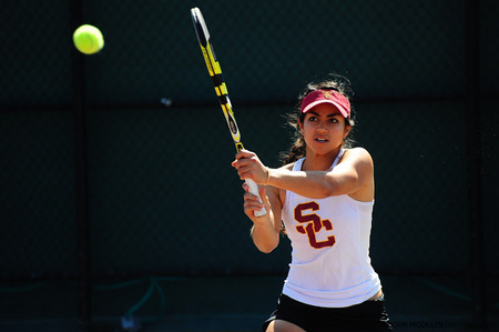 Zoe Scandalis tennis