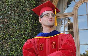 Ben Parrell '14 earned his linguistics PhD from USC Dornsife (Photo/ Pamela J. Johnson)