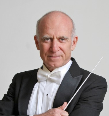 David Weiss with baton