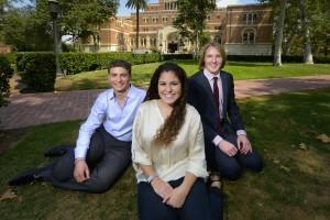 USC 2014 commencement valedictorian salutatorians