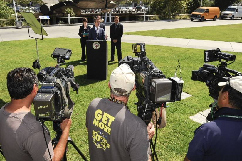 Garcetti press conference