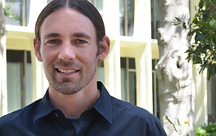 Psych professor Justin Wood