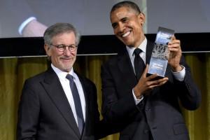 Steven Spielberg Barack Obama