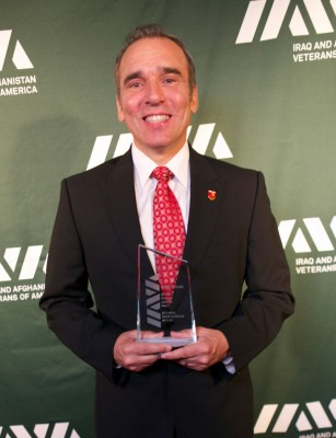 Hassan wins IAVA award