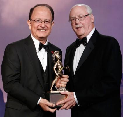 President Nikias and Daniel Epstein