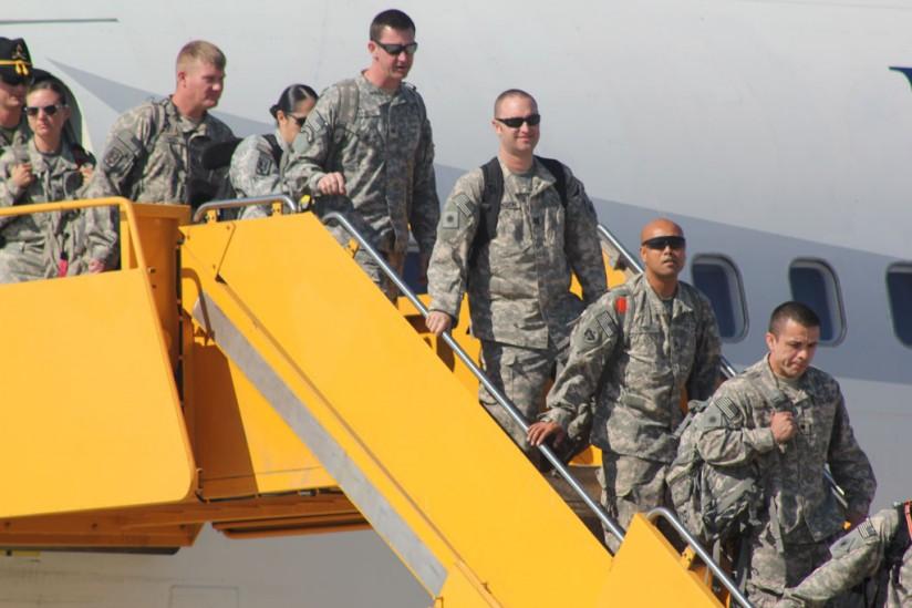 National Guard returnees