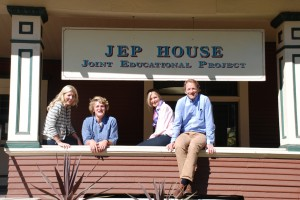 Winn family at JEP House